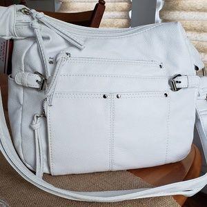 Bueno white shoulder bag